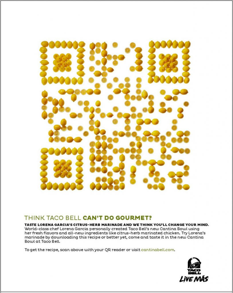 qr Code Campaign The qr Code Pictured Above