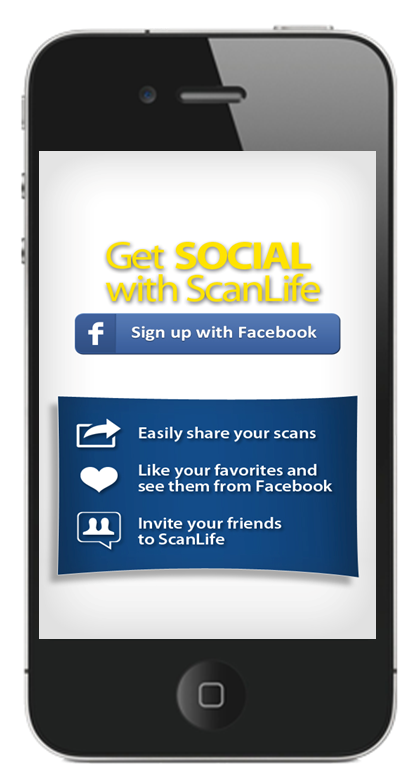 ScanLife sign to Facebook