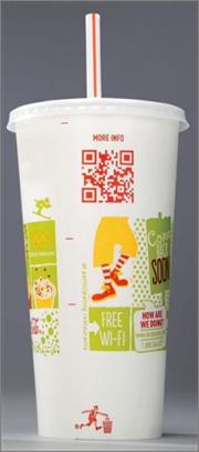 McDonalds QR Code campaign