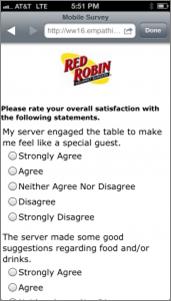 Red Robin campaign screenshot