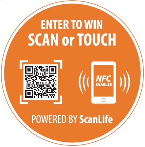 Topps NFC QR Code Sticker