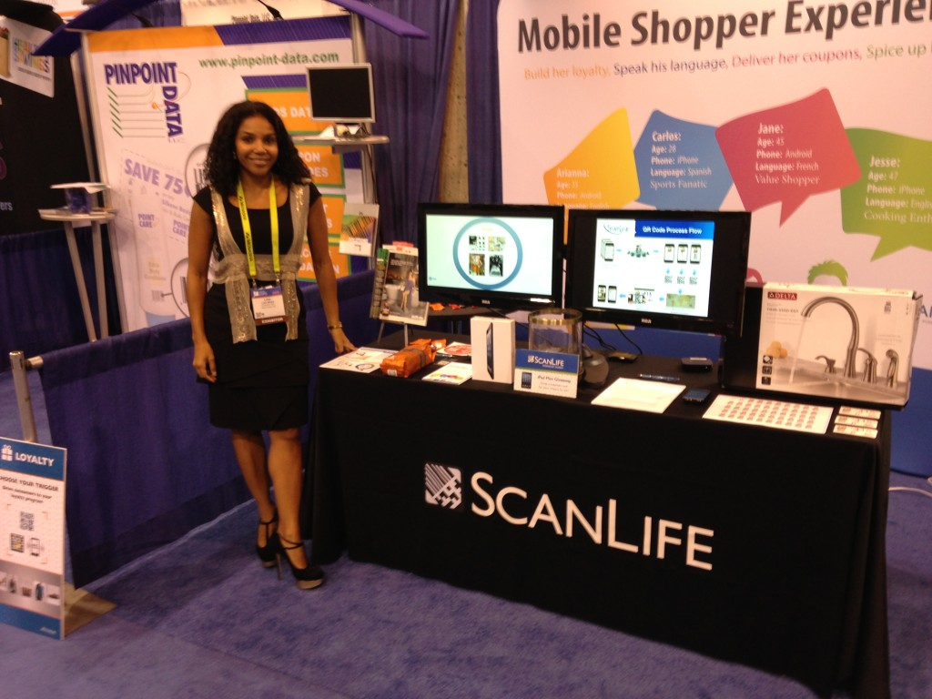 Shopper Marketing Expo booth