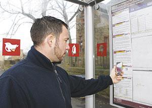 QR Code Bus Stop