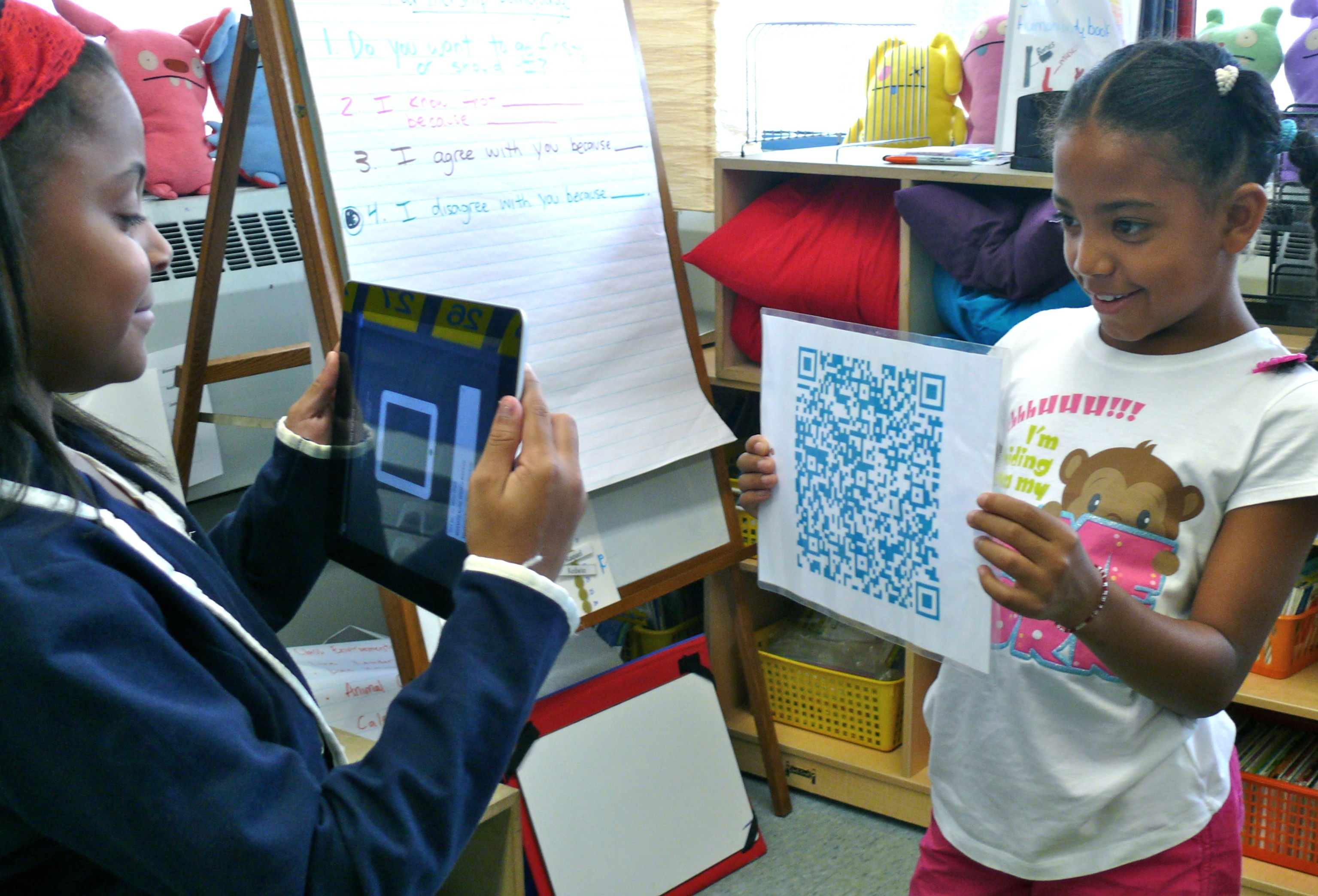 Schools using QR Codes