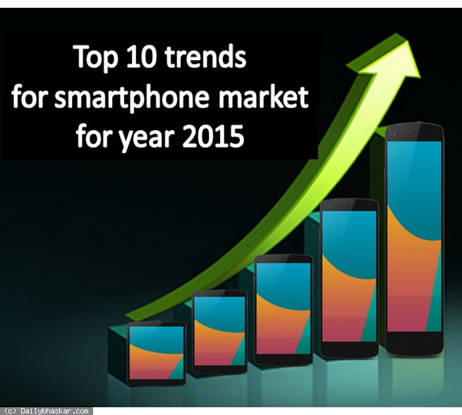 Top 10 Trends for smartphone (Cover slide)