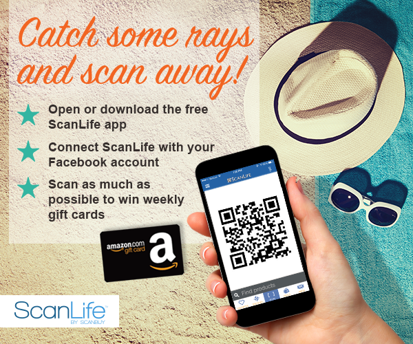 Catch Some Rays and Scan Away Contest