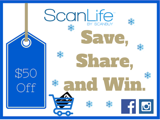 Save, Share, and Win with ScanLife Blog