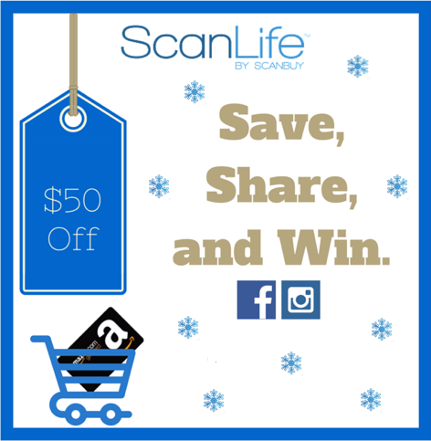 Save, Share, and Win with ScanLife