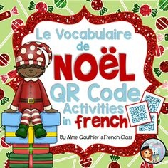 French book and QR codes