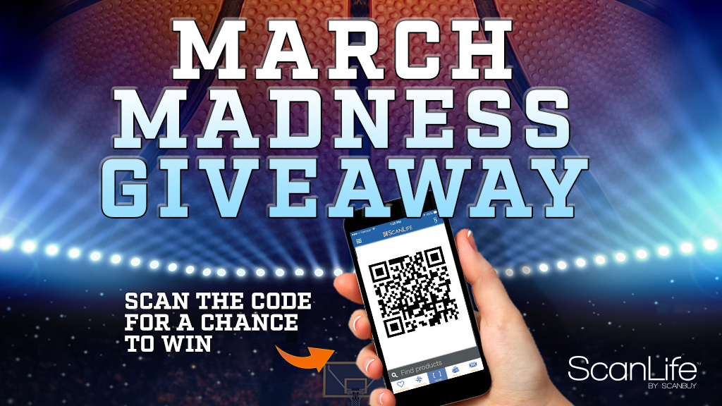 ScanLife March Madness Giveaway 16