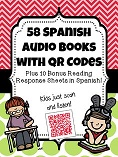 Spanish book and QR codes